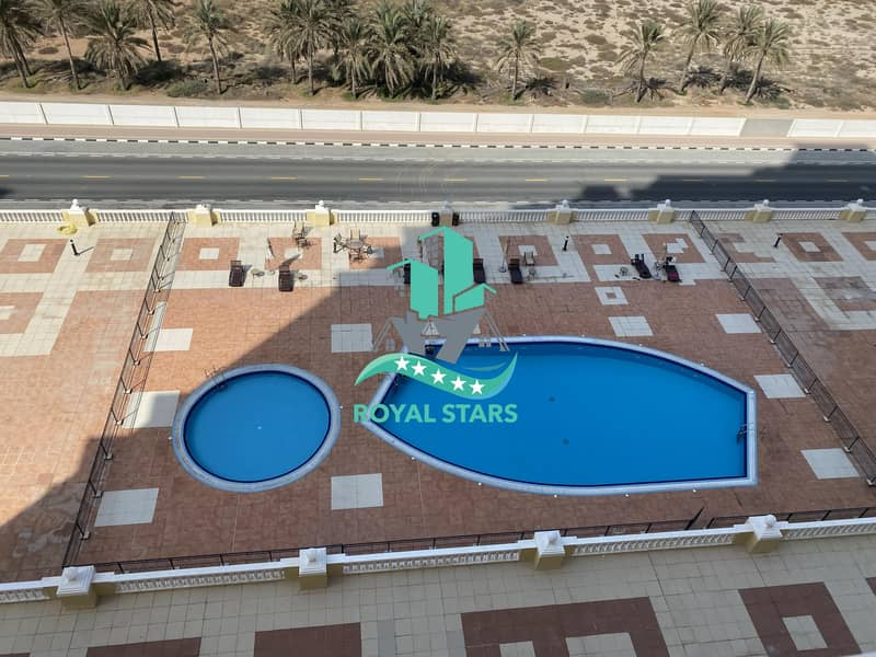 11 Amazing Sea View One Bedroom Apartment in the Royal Breeze Residence with Family Atmosphere