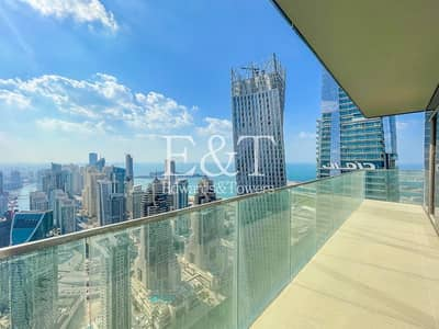 3 Bedroom Flat for Sale in Dubai Marina, Dubai - Resale | High Floor | Vacant | Full Marina View
