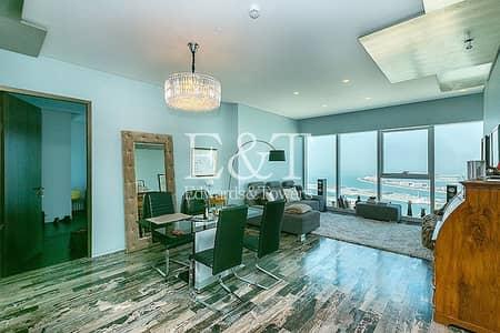 3 Bedroom Flat for Sale in Dubai Marina, Dubai - High Floor | Vacant | Full Sea View | Must See
