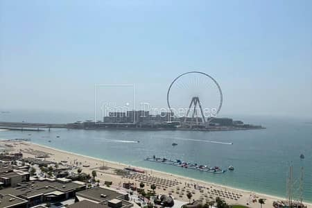 3 Bedroom Flat for Sale in Jumeirah Beach Residence (JBR), Dubai - Pamoramic Sea View   Vacant   3 Bed plus maids .