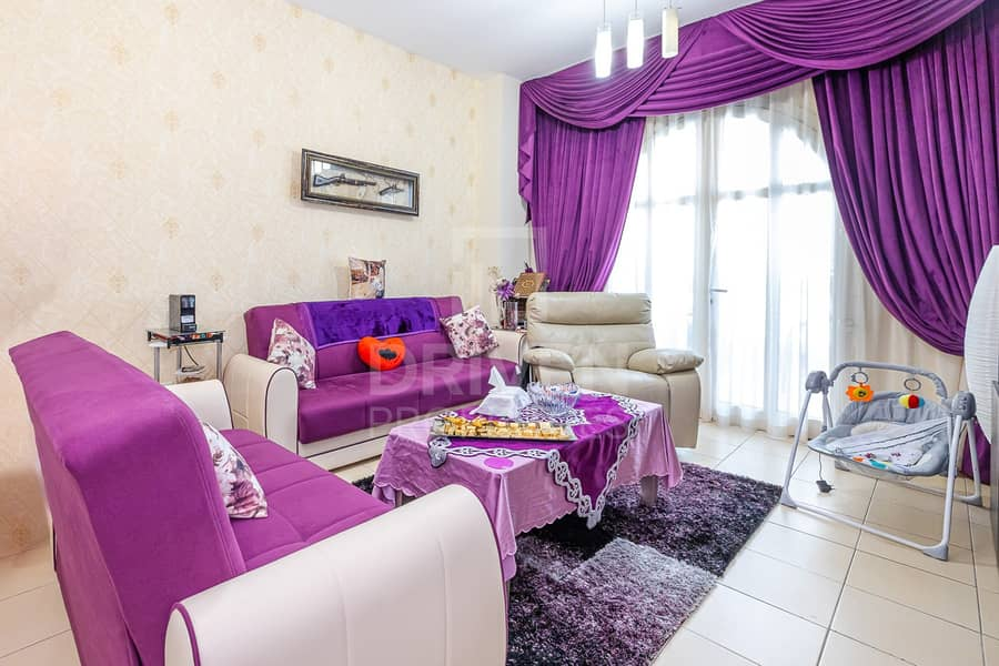 Vacant on Transfer | Semi-Furnished Unit