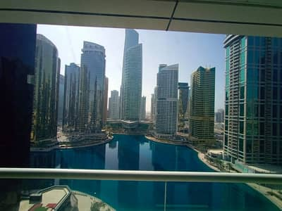 Studio for Rent in Jumeirah Lake Towers (JLT), Dubai - Studio with balcony | High Floor | Full Lake View