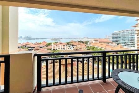 شقة فندقية 2 غرفة نوم للايجار في نخلة جميرا، دبي - Community Expert | High Floor | Never Rented