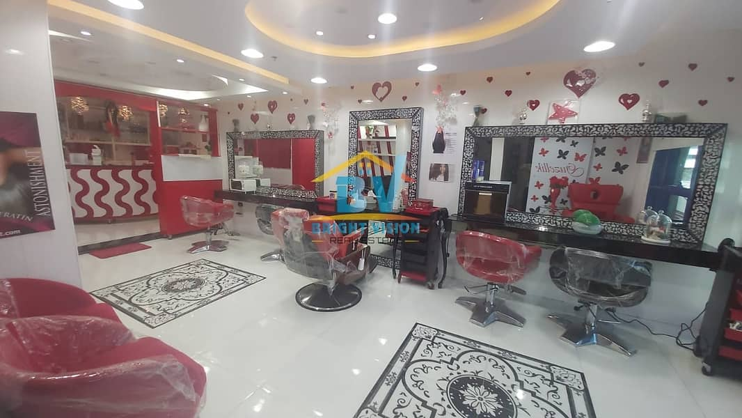 2  Fully Furnished Ladies Beauty Saloon