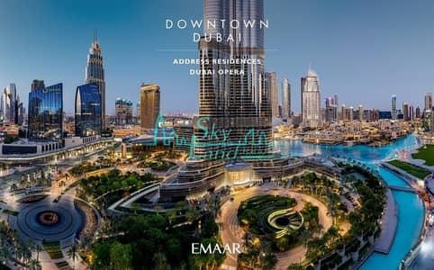 5 Bedroom Flat for Sale in Downtown Dubai, Dubai - Full Burj and Fountain View Half Floor Residence