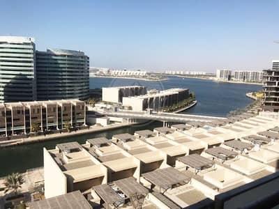 شقة 1 غرفة نوم للايجار في شاطئ الراحة، أبوظبي - Sea View | High Floor | Reduced Price