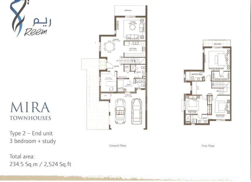 10 3 Bed plus Study | Single Row| Close to Entrance