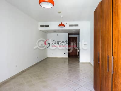 Studio for Rent in Dubai Production City (IMPZ), Dubai - With Parking | Studio in The Crescent Tower