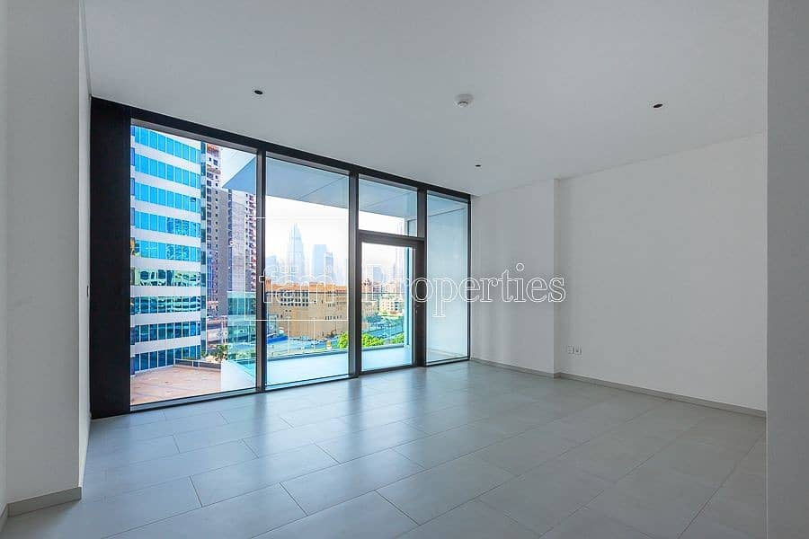 12 Modern Studio | High Floor | Burj Khalifa View