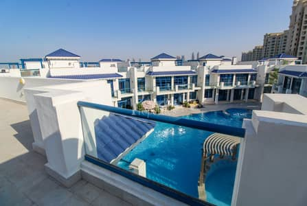 4 Bedroom Villa for Sale in Palm Jumeirah, Dubai - Exclusive | Never Been Lived In | 4 BR