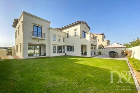 4 Bedroom Villa for Rent in Arabian Ranches 2, Dubai - Type 3   Vacant Mid Feb   Imaculate Garden