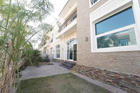 5 Bedroom Villa for Rent in Jumeirah, Dubai - Impeccable villa | 5 Bedrooms | Shared facility |  Private garden