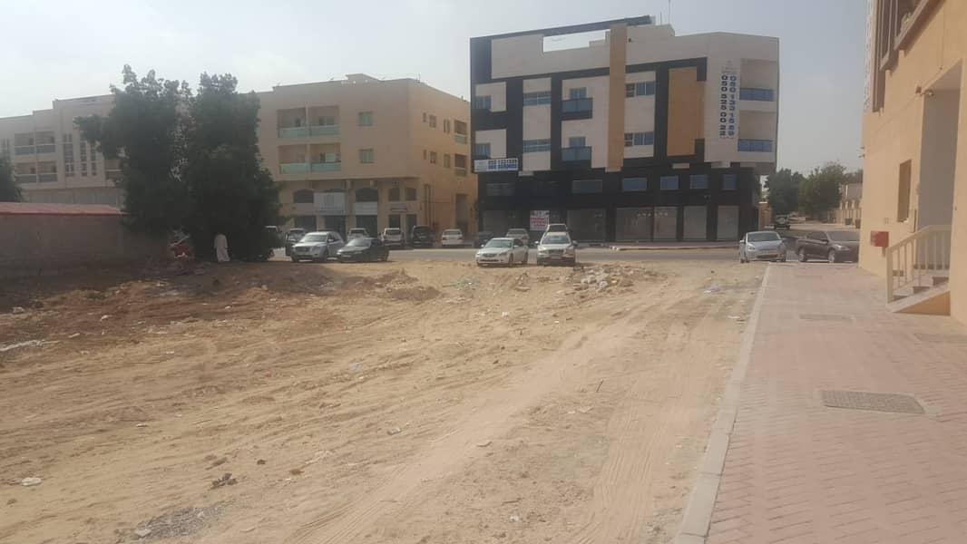 للبيع ارض تجارية بسعر وموقع مميز في المويهات 3 عجمان