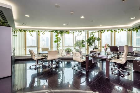 Office for Rent in Jumeirah Lake Towers (JLT), Dubai - Fully Fitted and furnished Office | DMCC