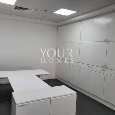 Office for Rent in Motor City, Dubai - OP| Fitted Office Detroit House 2 parking