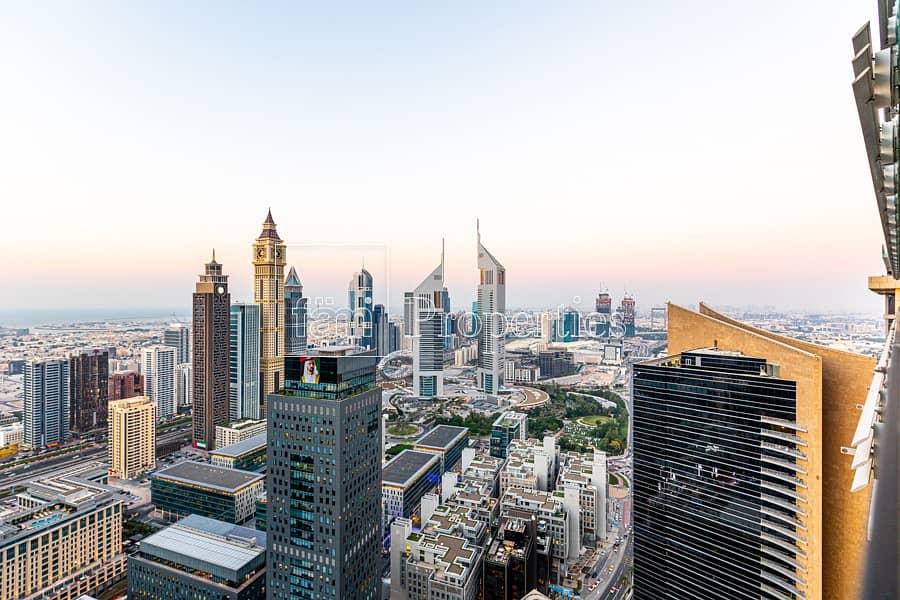 Duplex | Sheikh Zayed Road Skyline View