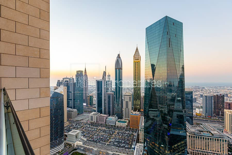 2 Duplex | Sheikh Zayed Road Skyline View