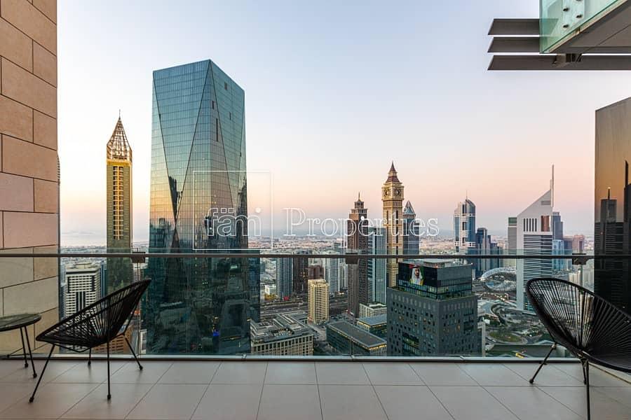 22 Duplex | Sheikh Zayed Road Skyline View
