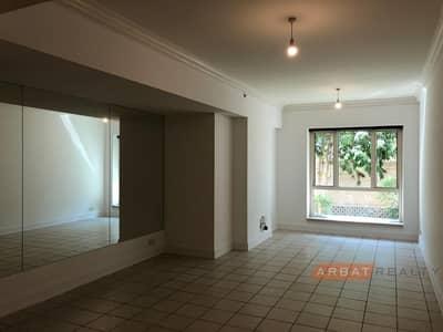 فلیٹ 1 غرفة نوم للايجار في دبي مارينا، دبي - 1 bedroom + Study room | Garden & Community View