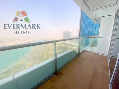 2 Bedroom Flat for Rent in Corniche Area, Abu Dhabi - Beautiful Sea view !!6 payments Specious Two Bedroom Apartment with maid room Along Big Balcony with luxury layout and all facilities