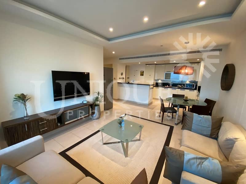 Fully Furnished 2Br | Near Metro Station