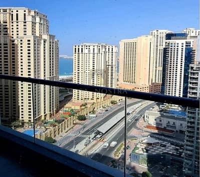 Marina and Sea view 3BR Higher floor Large Balcony