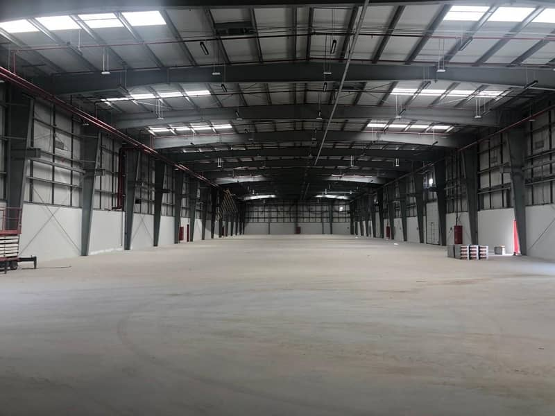 2 BRAND NEW | 850KW POWER | MULTIPLE LOADING BAY | NEAR TO EXPO