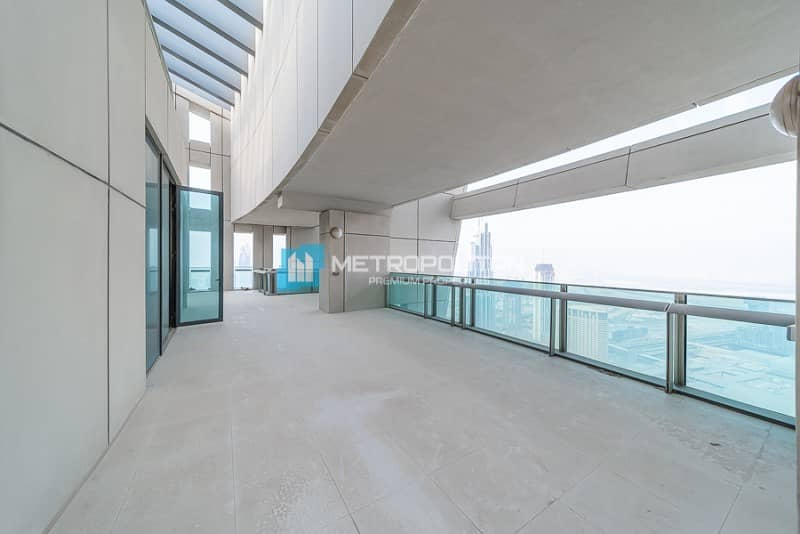 2 Panoramic Views|Brand new|Triplex 5 BR Penthouse