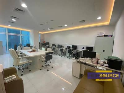 Office for Rent in Business Bay, Dubai - Fully Furnished Office for Rent | Near Metro Station | Business bay