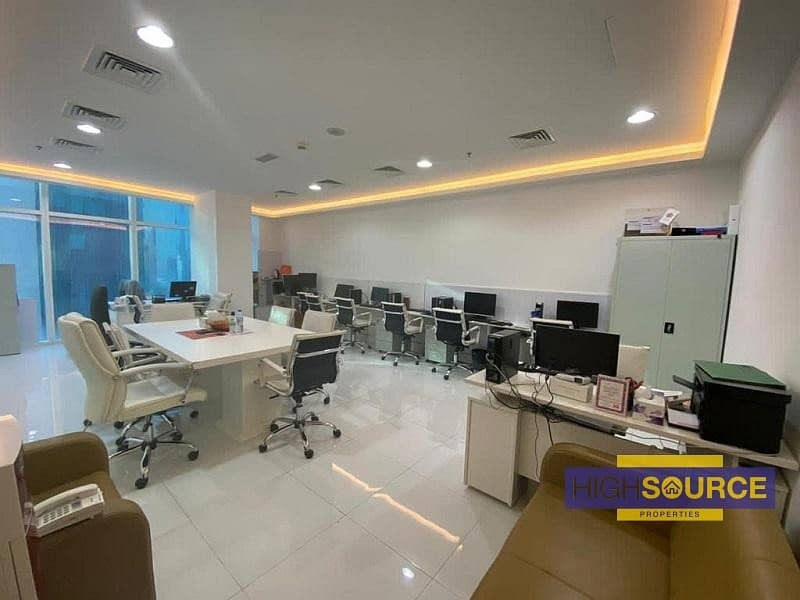 Fully Furnished Office for Rent | Near Metro Station | Business bay