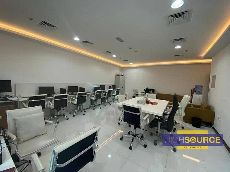 2 Fully Furnished Office for Rent | Near Metro Station | Business bay