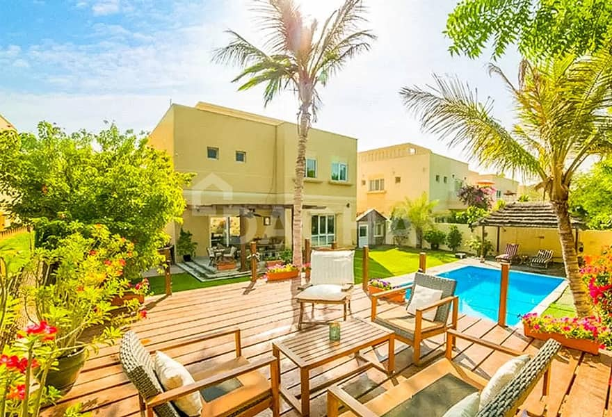 Upgraded Single Row 3 Bed with Private Pool