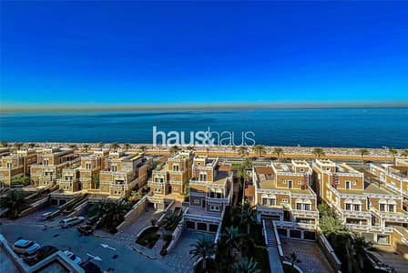 3 Bedroom Apartment for Rent in Palm Jumeirah, Dubai - Largest Floor Plan | High Floor | Beach and Pool