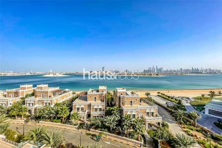 4 Bedroom Penthouse for Rent in Palm Jumeirah, Dubai - Duplex Penthouse with Private Pool | Beach Access