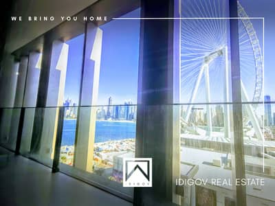 3 Bedroom Apartment for Rent in Bluewaters Island, Dubai - Sea View  |  Very Bright | Specious Flat