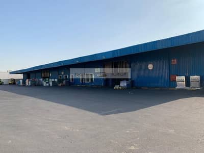Plot for Rent in Industrial Area, Sharjah - Labor Camp Bldg w/ Offices (G+1) /Warehouse