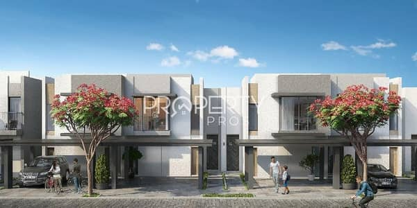 3 Bedroom Townhouse for Sale in The Valley, Dubai - 3BR with Maid | Unique Layout | Easy Payments