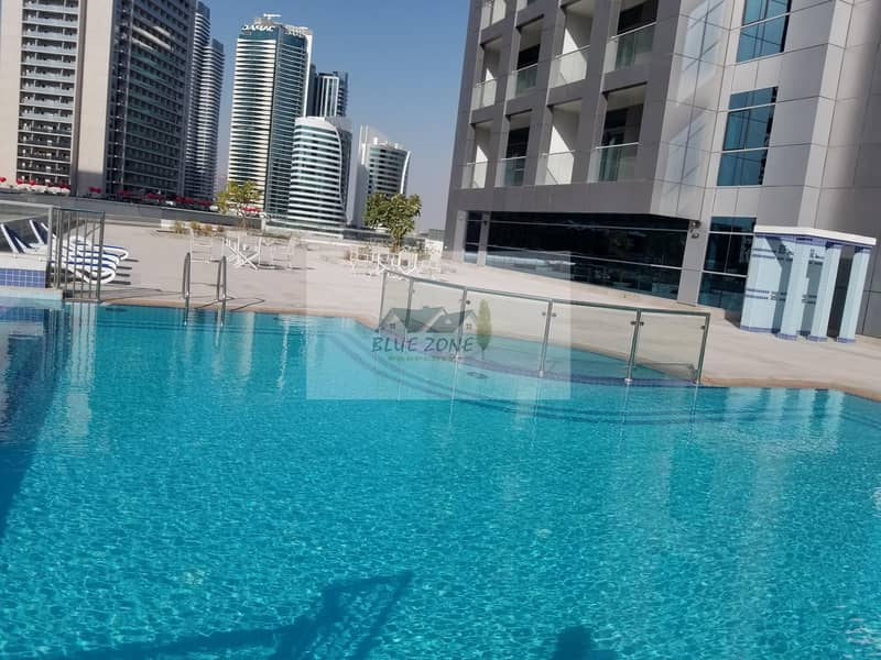 26 SEA VIEW 1 MONTH FREE 2BHK STORE BRAND NEW 5 MINUTES BY DRIVE TO BURJ KHALIFA POOL GYM PARKING 75K