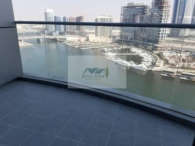 فلیٹ 3 غرف نوم للايجار في الخليج التجاري، دبي - SEA VIEW 1 MONTH FREE BRAND NEW 3BHK WITH STUDY + STORE ROOM GYM POOL 2 PARKINGS 110K