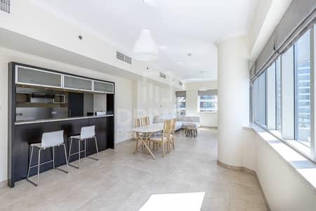 فلیٹ 2 غرفة نوم للايجار في دبي مارينا، دبي - Fully Furnished Unit | Exclusive Listing