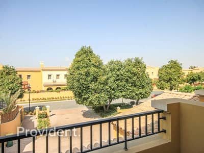 2 Bedroom Townhouse for Rent in Arabian Ranches, Dubai - Landscaped | With Study | Single Row | Type B
