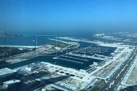 فلیٹ 2 غرفة نوم للايجار في دبي مارينا، دبي - Full sea View I Un Furnished I Well Maintained