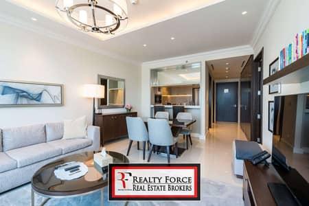 فلیٹ 1 غرفة نوم للبيع في وسط مدينة دبي، دبي - HIGH FLOOR | CANAL VIEW | VACANT