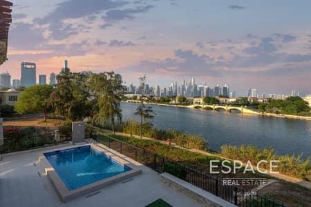 فیلا 6 غرف نوم للبيع في جزر جميرا، دبي - Fully Upgraded | Extended | Elevated Plot