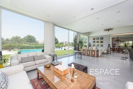 5 Bedroom Villa for Sale in Jumeirah Islands, Dubai - Contemporary Upgrades | Extended BUA/Plot