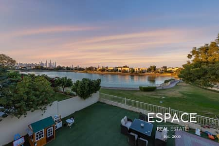 3 Bedroom Villa for Sale in The Springs, Dubai - Lake and Skyline View Type 2E with Upgrades