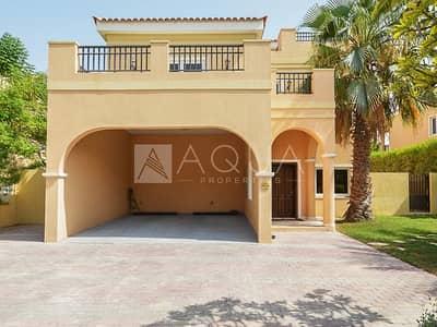 5 Bedroom Villa for Rent in The Villa, Dubai - Single Row Mazaya A1 Villa In Great Courtyard