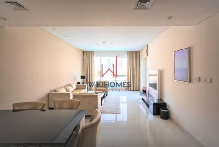 فلیٹ 2 غرفة نوم للايجار في الخليج التجاري، دبي - Pool View | Spacious Layout | Maid's Room | Minutes to Dubai Mall