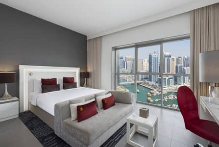 شقة فندقية  للايجار في أبراج بحيرات الجميرا، دبي - شقة فندقية في أبراج بحيرات الجميرا 5499 درهم - 4835130