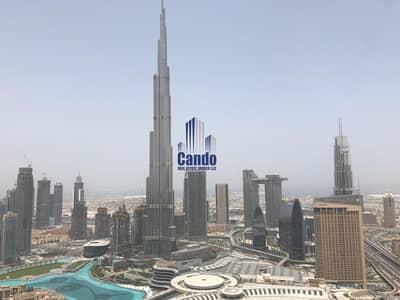 2 Bedroom Apartment for Rent in Downtown Dubai, Dubai - Five Star Amenities | Burj Khalifa View | High Flr